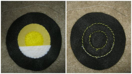 Optic Lid Front and Back