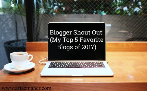 Blogger Shout Out